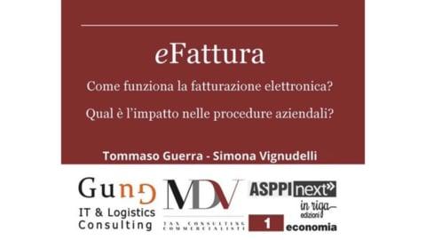 Webinar Nazionali: 1. eFattura: la fatturazione elettronica di Simona Vignudelli