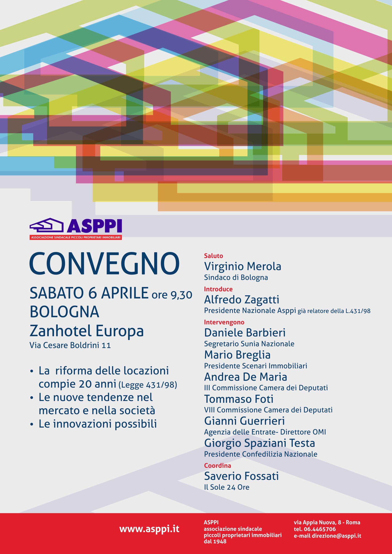 Convengo Nazionale ASPPI – Bologna 6 aprile 2019