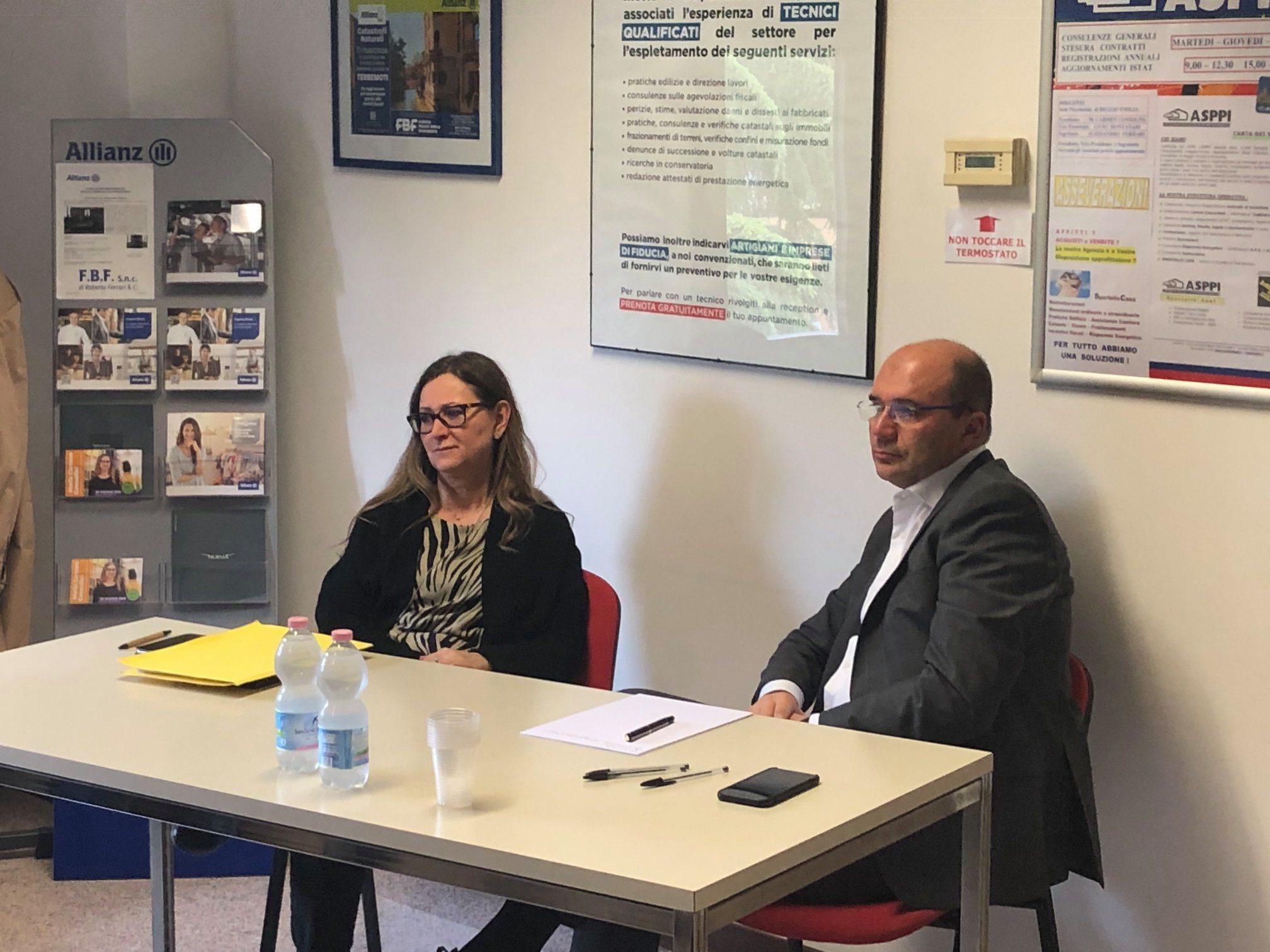 ASPPI Reggio Emilia incontra il Sindaco Luca Vecchi
