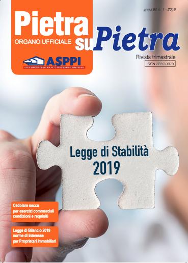Pietra su Pietra anno 66 n.1 – 2019