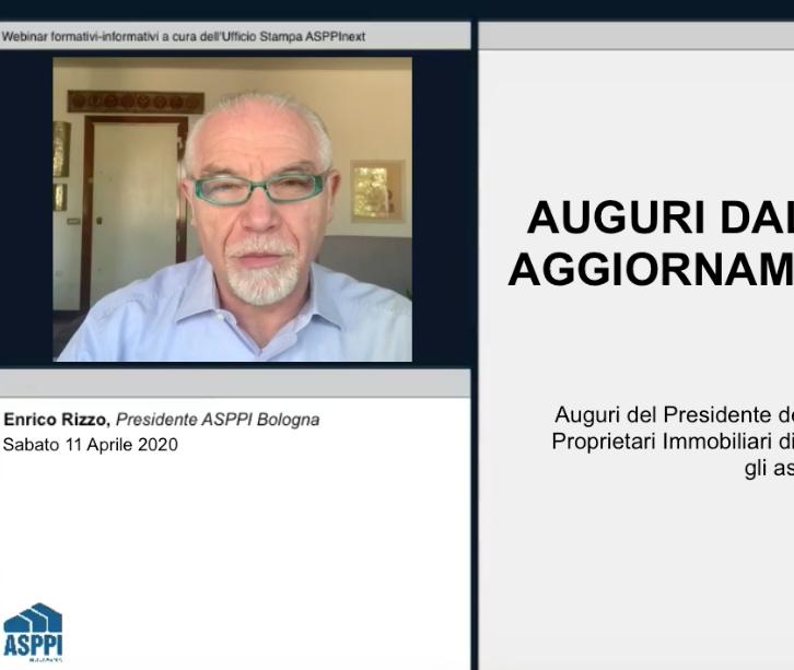 Auguri e aggiornamento per i Soci del Presidente ASPPI Bologna