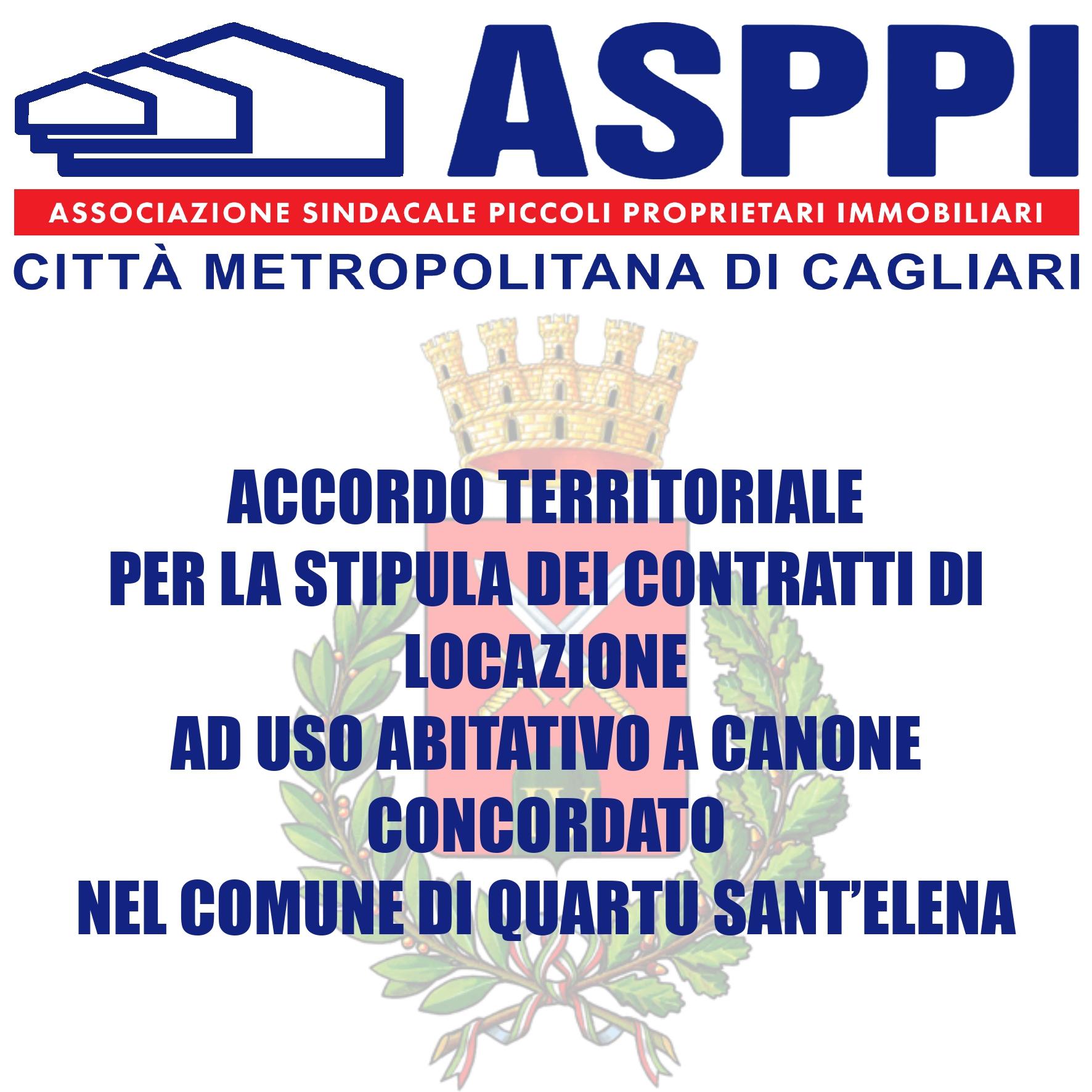 Accordo Territoriale Quartu Sant'Elena