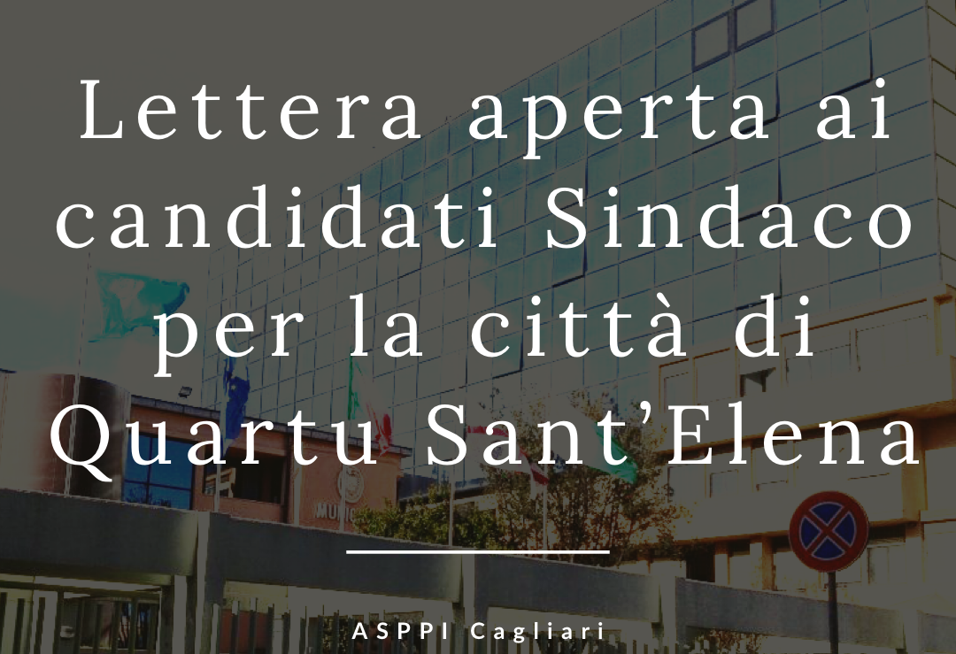 Lettera aperta ai candidati Sindaco per la città di Quartu Sant'Elena