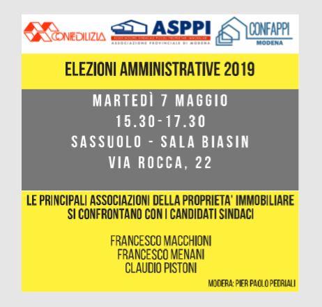 Intervista ai candidati sindaci di Sassuolo