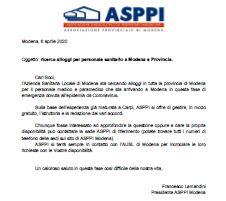 Ricerca alloggi per personale sanitario a Modena e Provincia.