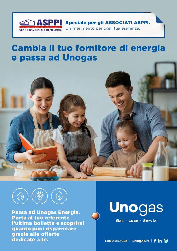 E' ATTIVA LA NUOVA CONVENZIONE ASPPI – UNOGAS ENERGIA SPA!